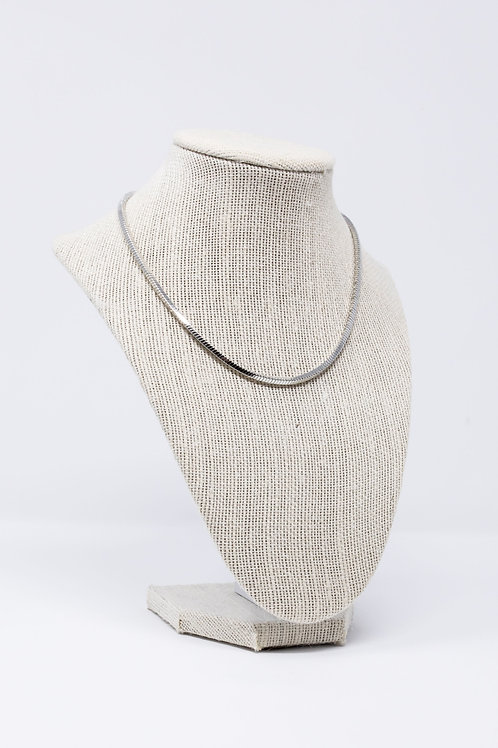 Silver Emme Chain Necklace