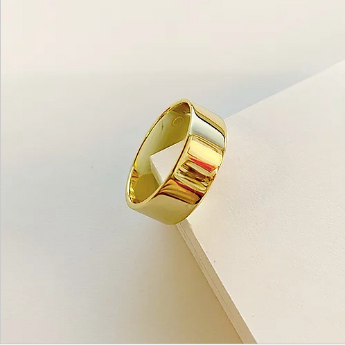Gold Thick Band