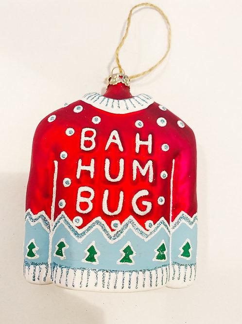 Bah Hum Bug Sweater Ornament