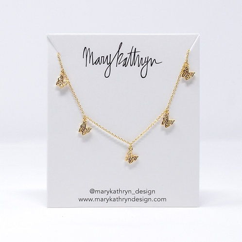 Gold Nadia Necklace