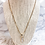 Thumbnail: Box Chain Long Saint Necklace