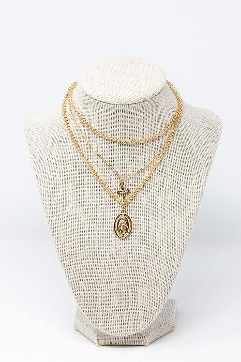 Saint Combo Necklace (sale)