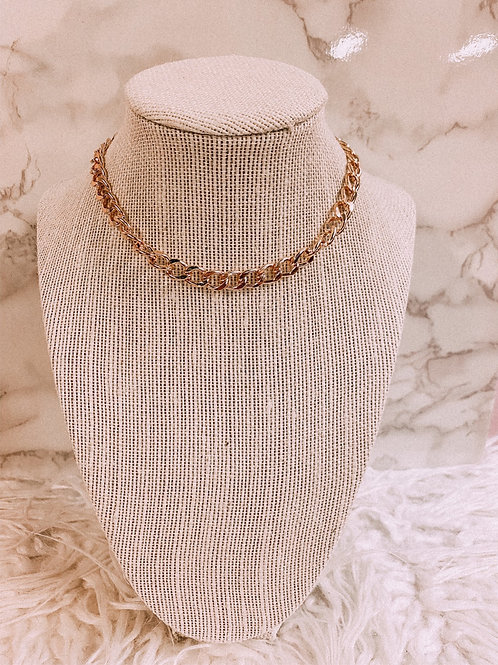 Gold Plated Choker Chain
