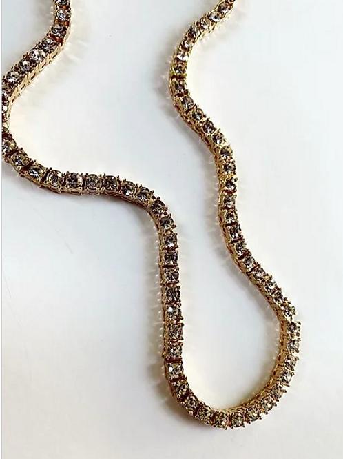 Ceci Tennis Chain Necklace