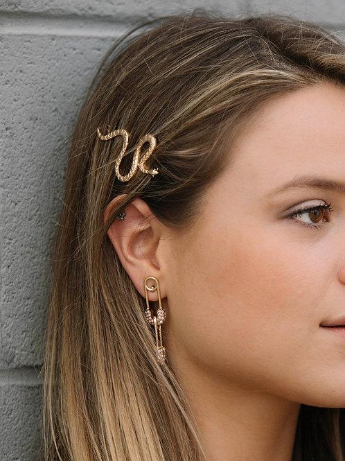 Snake Hair Barette