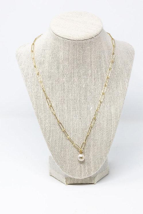 Genuine Pearl w/ CZ