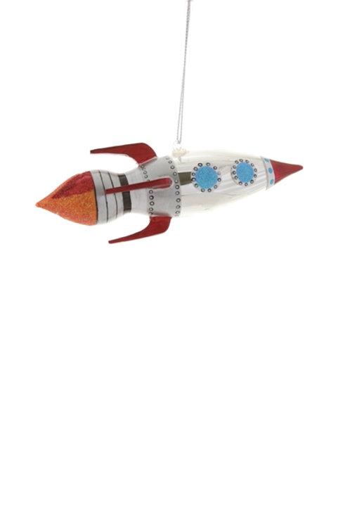 Rocketship Ornament