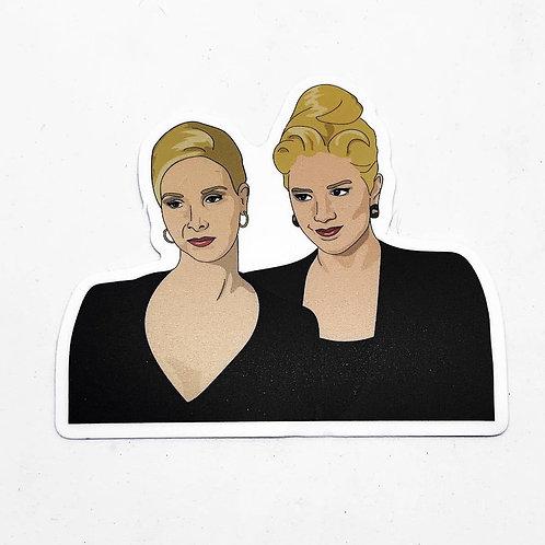 Romy + Michelle Sticker