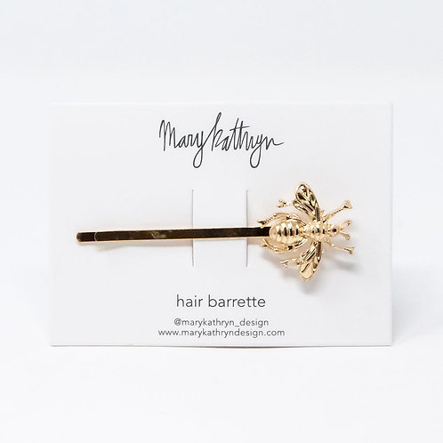 Bee Hair Barrette