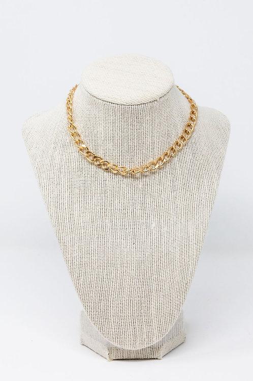 Gold Plated Choker Chain