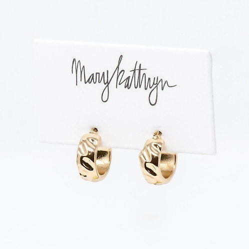 Gold Mini Hoops