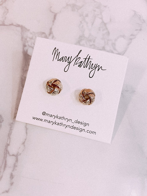Large Knotted Studs