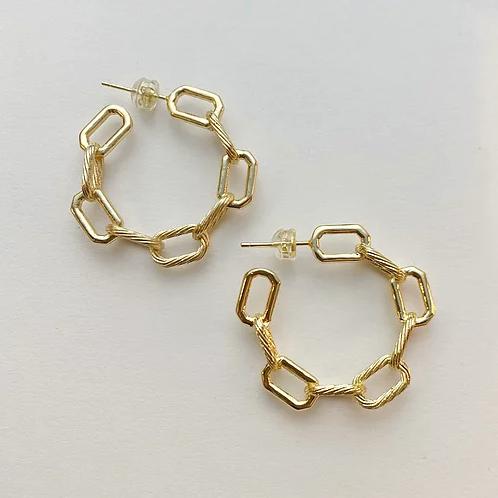 Cuban Chain Hoops