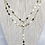 Thumbnail: Gold Star Lariat Necklace