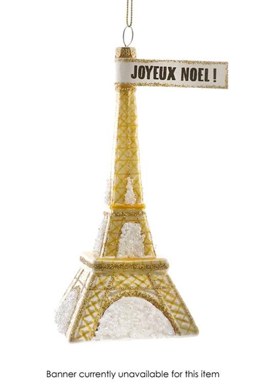 Eiffel Tower - Gold Ornament