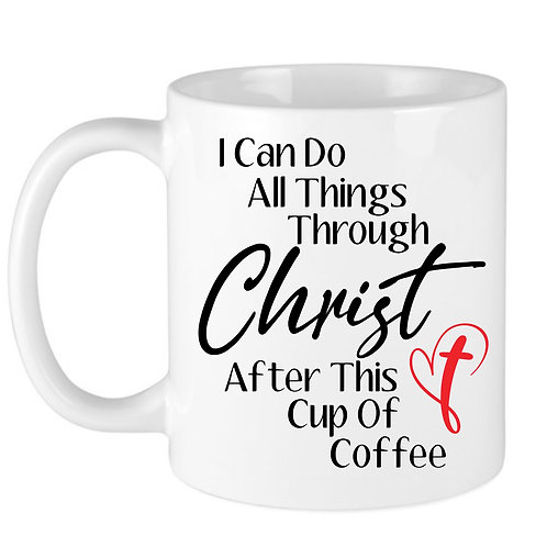 Through Christ Mug