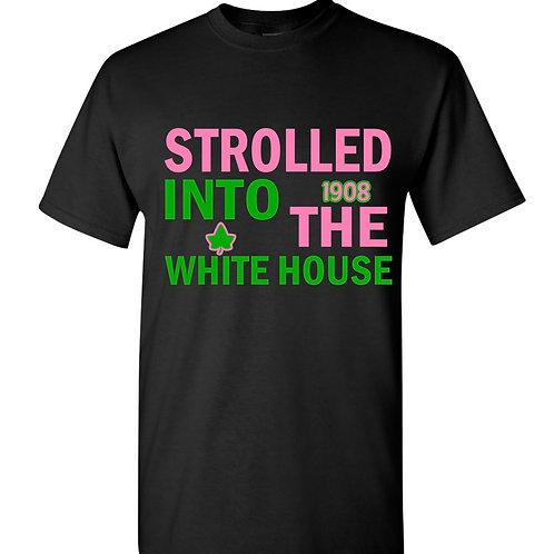 Strolled