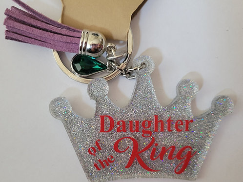 Daughter of the King Keychain