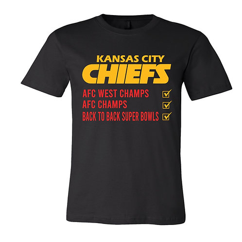 Chiefs Check List