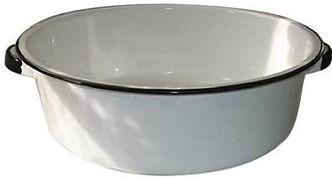 Metal Foot Bowl wht w blk 45.jpg
