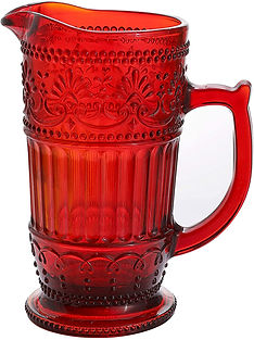 Glass Pitcher - Vintage Red 50.jpg