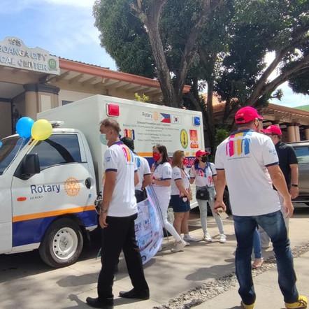 Rotary Covid-19 ambulance ignites hope amid pandemic