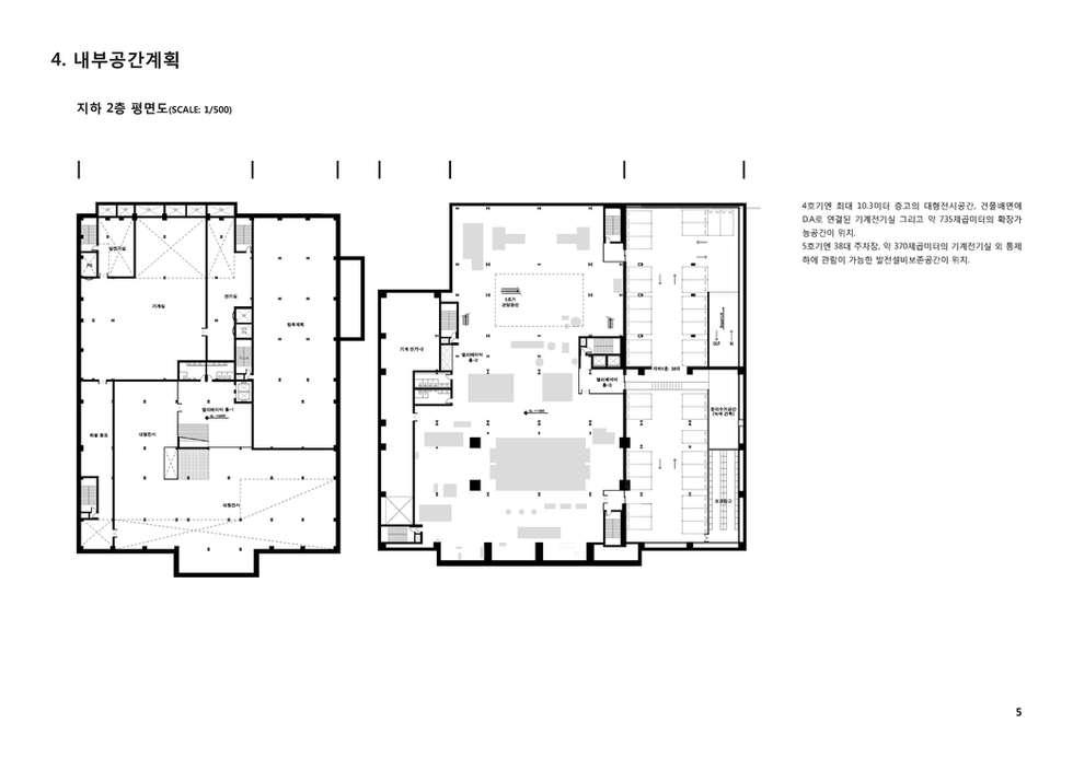 지하 2층 평면