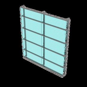 led glass barrier