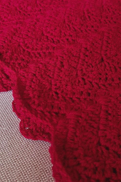 Ruby Red Blanket