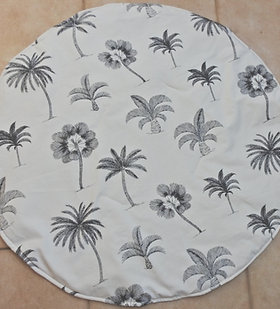 Palm Tree - Black and cream -Play mat