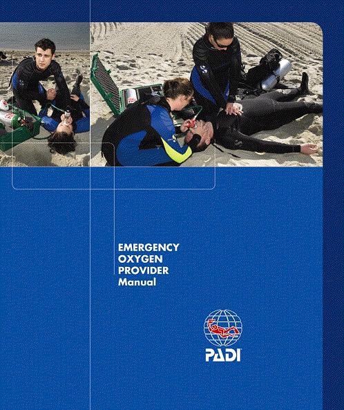 PADI Emergency Oxygen Provider Manual