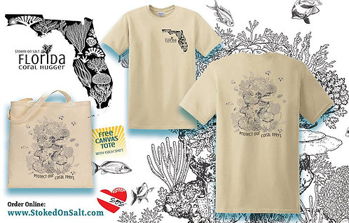 Protect Our Coal Reefs T-Shirts w/ Tote