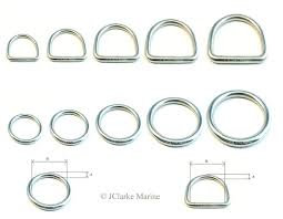 Stainless Steel Rings and Buckles
