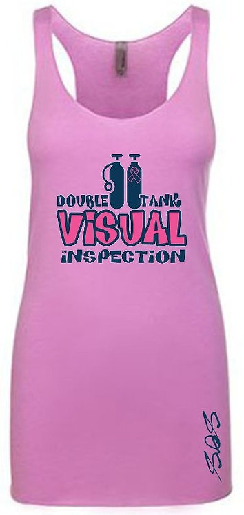 Double Tank Visual - Awareness Tank Top