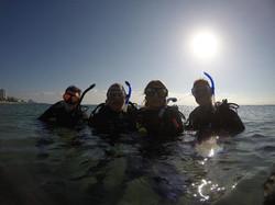 Early Beach Dive