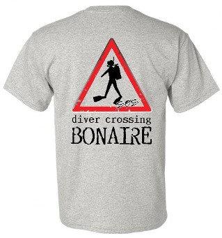 Diver Crossing Bonaire SS T-Shirts