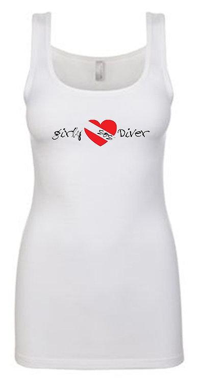Girly SOS Diver Tank Tops