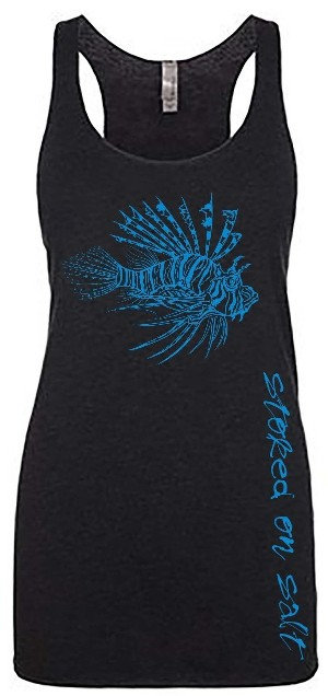 Lady Lionfish Tank Tops