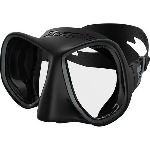 Zeagle Scope Dual Mask W/Silicone Strap