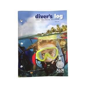 PADI Diver's Logbook