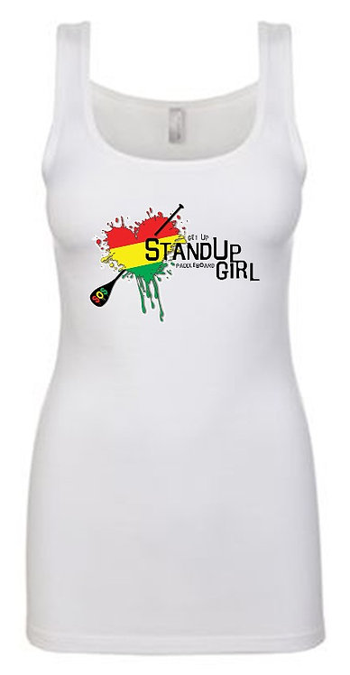 Get Up Stand Up SUP Girl Tank Top