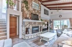 Fireplace Living Room Still Photo