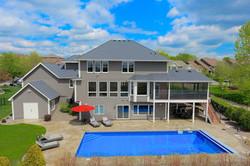 Aerial Pool Photo