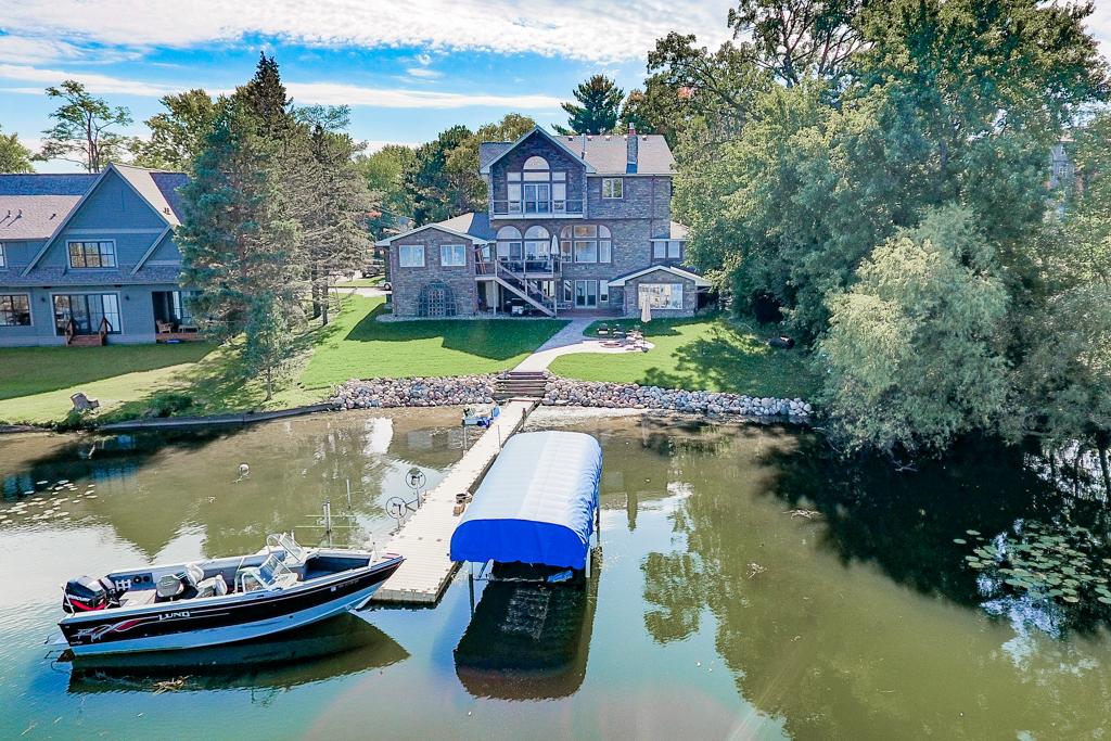 Lake Johanna Aerial