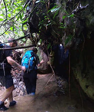 Guest entering water cave-Batu katak.jpg