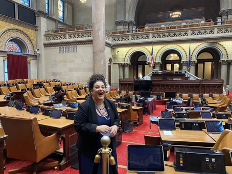 Ms. Sillitti Goes to Albany
