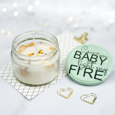 Valentinstagsgeschenk: Come on Baby light my fire