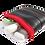 Thumbnail: Mini-Täschchen aus Fahrradschlauch // vers. Farben