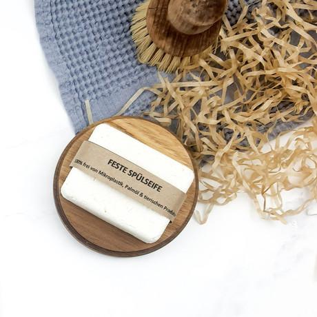 Feste Spülseife Selbermachen - frei von Mikroplastik, Palmöl und tierischen Produkten