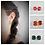 Thumbnail: Ohrringe - Kaffeekapsel // 10 Farben
